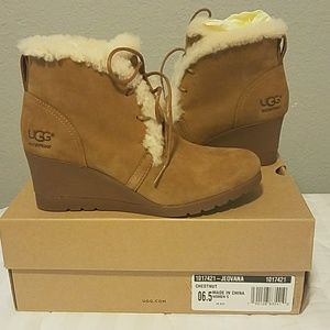 c57df64a197b UGG Shoes - Jeovana UGG wedges Size 6.5